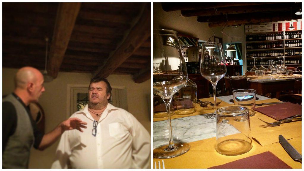 Mangiare a manovella,Il Geco, Circolo Eno Gastronomico, Lucca, Toscana.
