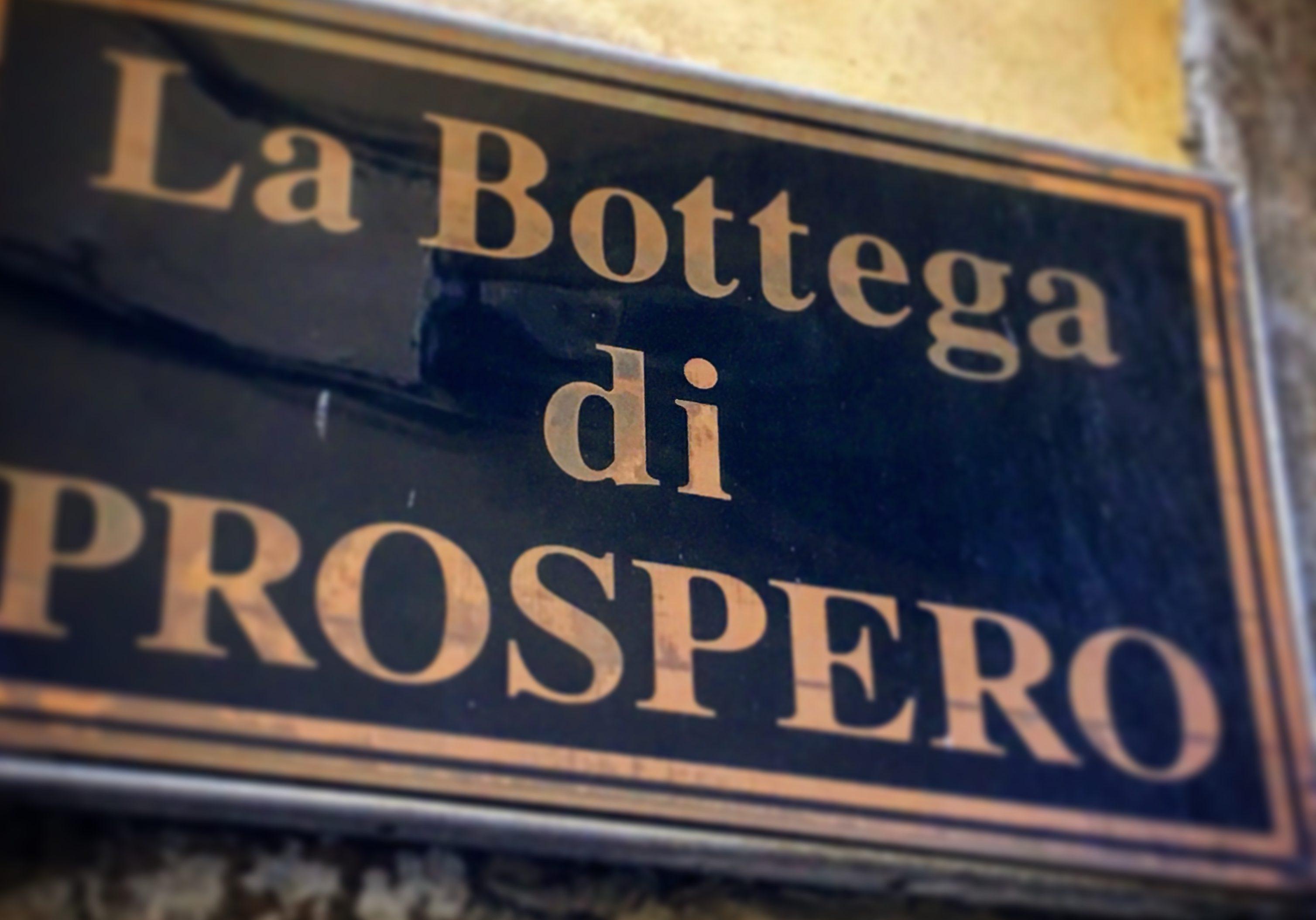 Antica Bottega di PROSPERO – Lucca