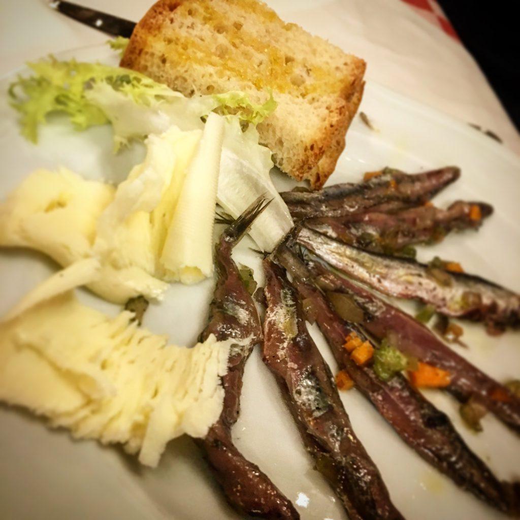 Osteria di Poneta. Montecatini, Mangiare a manovella
