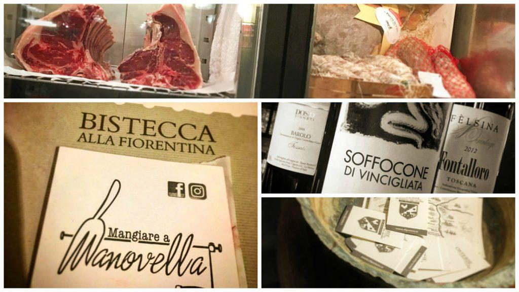 Osteria di Poneta, Montecatini, Mangiare a manovella