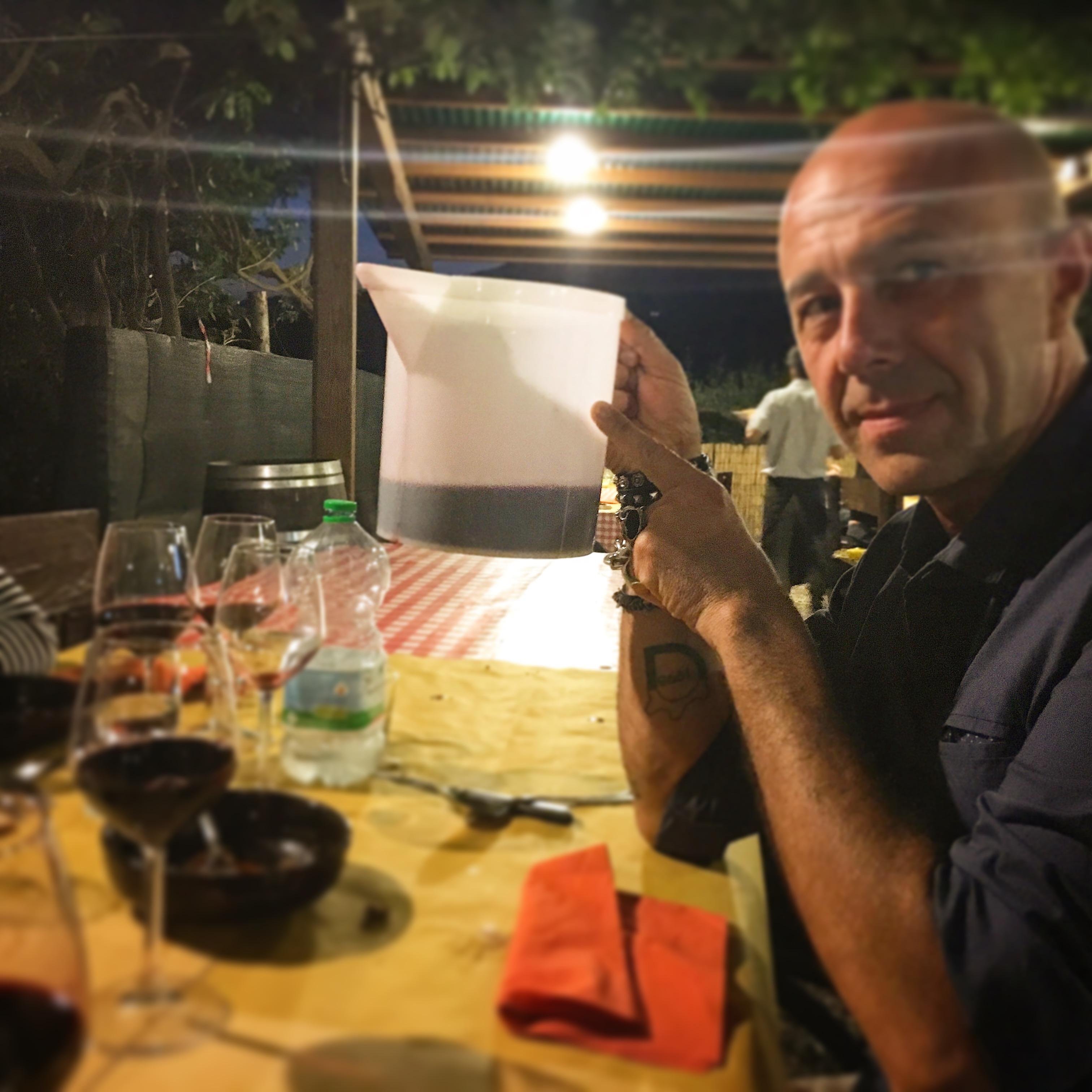 Da baffo, Gino fuso Carmignani, Mangiare a manovella, Montecarlo