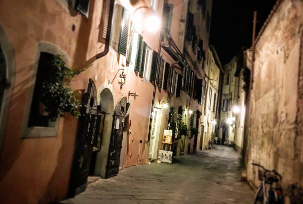 La Parte degli Angeli, Lucca, Mangiare a manovella, Leonardo Calò