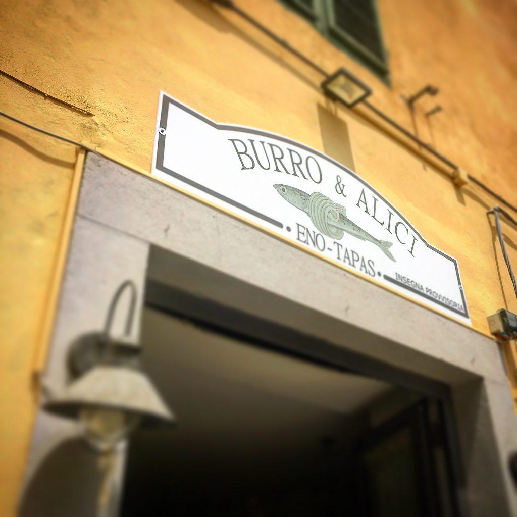 Burro & Alici, Lucca, Mangiare a manovella, sandro verdiani