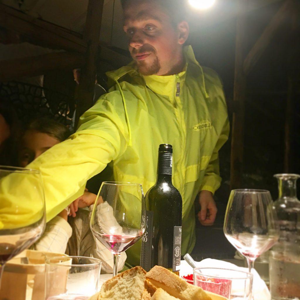 Osteria Candalla, Mangiare a manovella, Camaiore,Versilia, Trippa