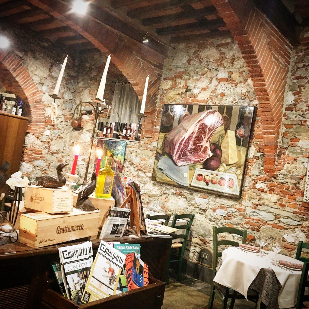 La vintage Bistrot, Pietrasanta, Mangiare a manovella, Versilia