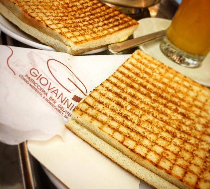 Toast del Giovannini