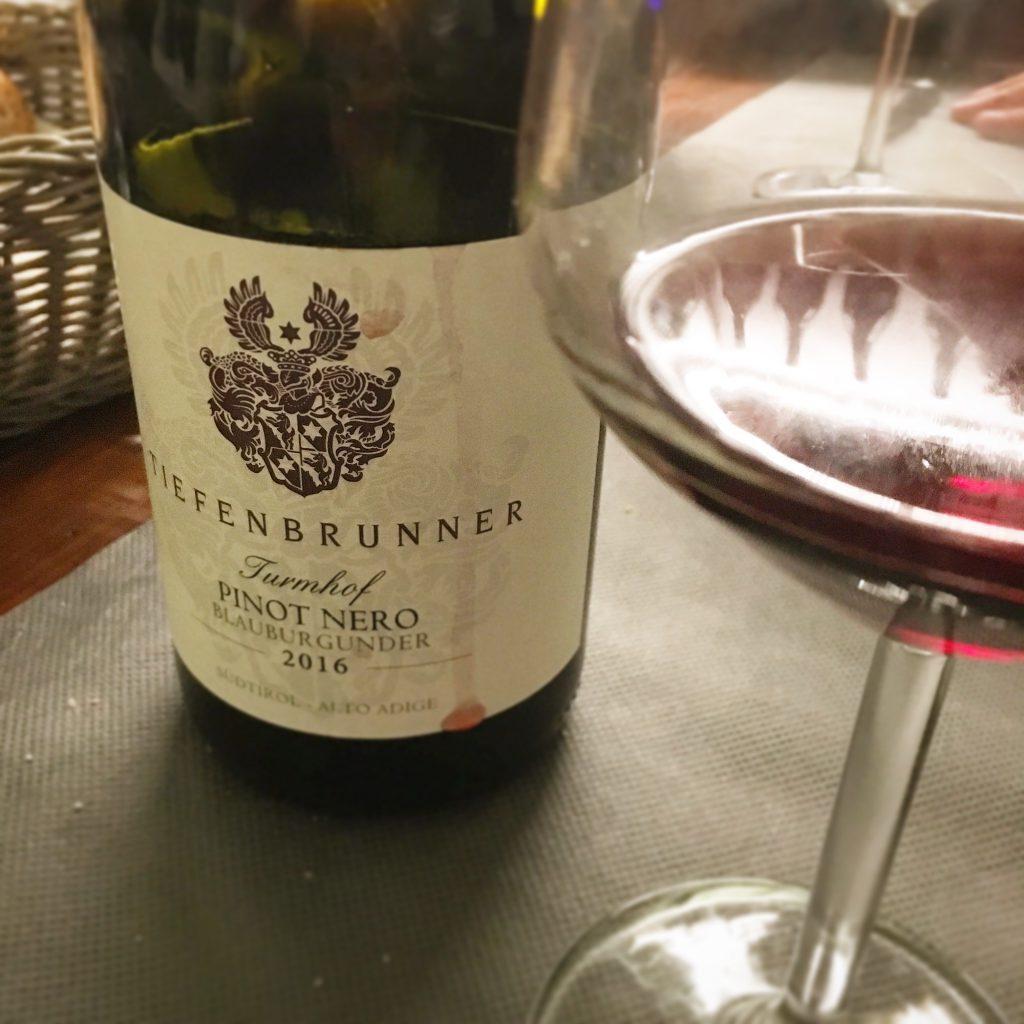 Beviamoci Su, Pistoia, Mangiare a manovella, Tiefenbrunner, Pinot Nero