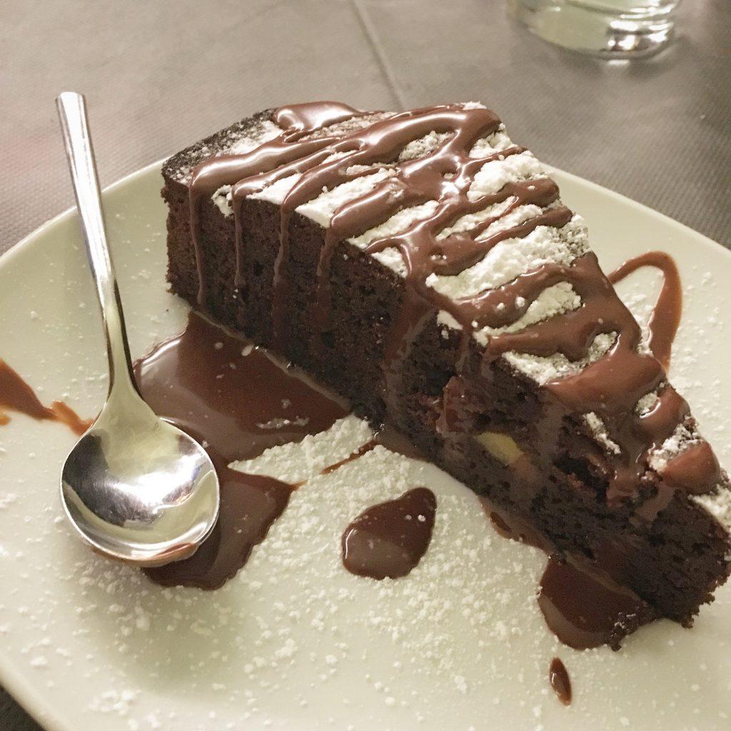 Beviamoci su, Pistoia, Mangiare a manovella, Torta al cioccolato