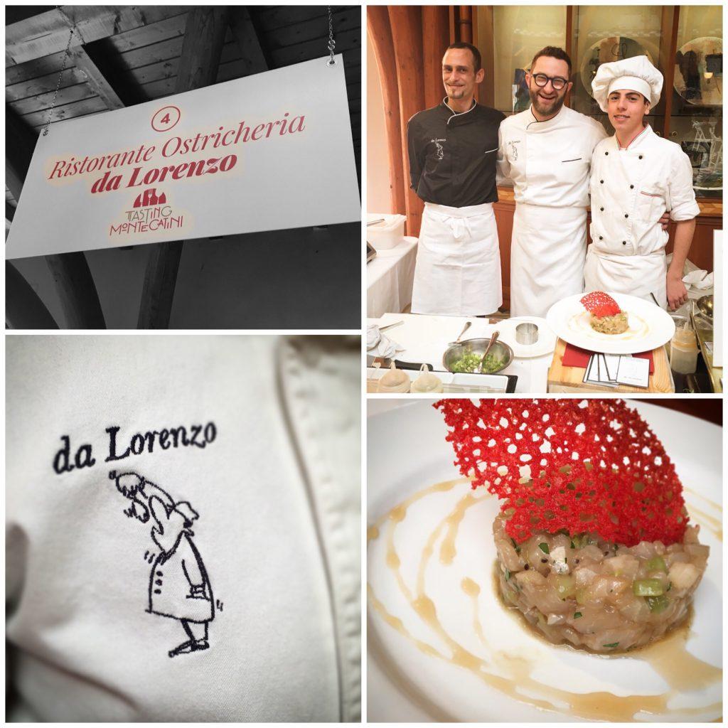 Tasting Montecatini, Ristorante da Lorenzo, Mangiare a manovella