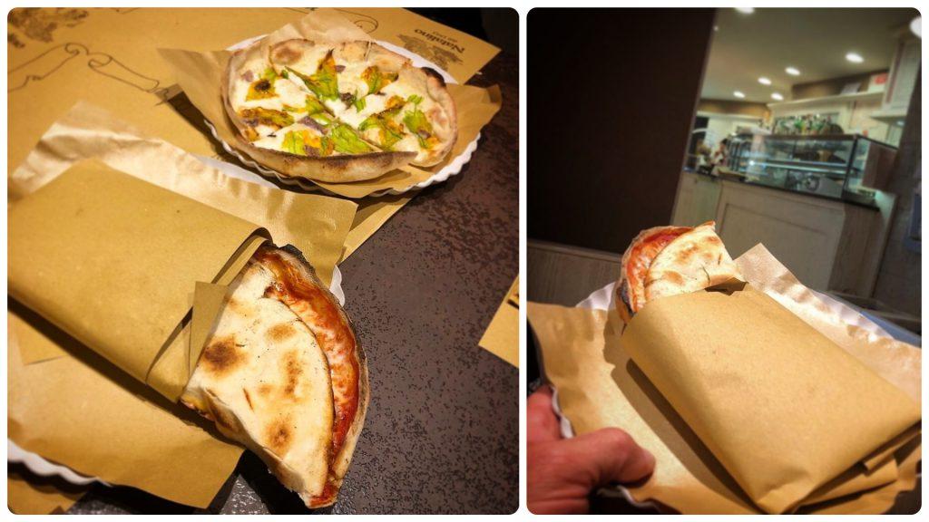 Pizzeria Natalino, Monsummano, Mangiare a manovella