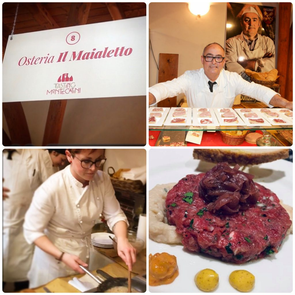 Tasting Montecatini, Il Maialetto, Mangiare a manovella