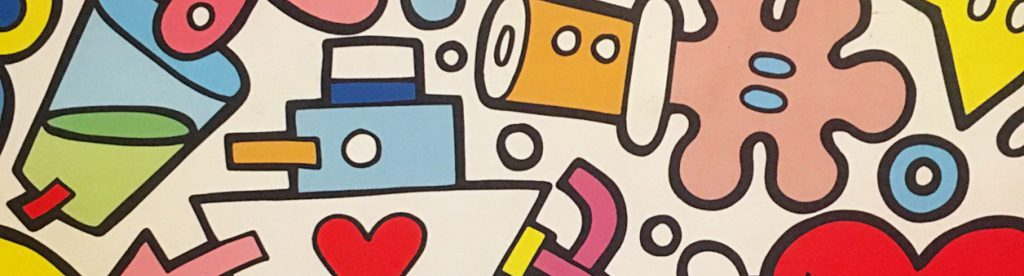 Aleandro Roncara, pop art, montecatini, mangiare a manovella, ristorante pizzeria