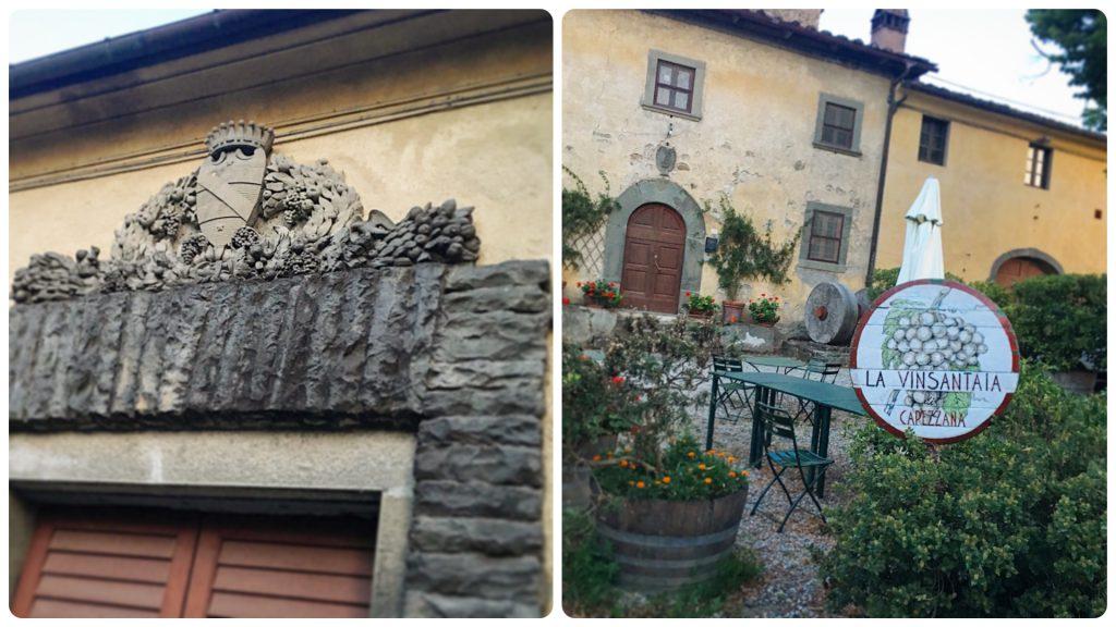 La Vinsantaia di Capezzana, Mangiare a manovella, Contini Bonacossi, Carmignano, Prato, Sandro Verdiani
