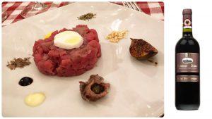 Trattoria Davero, Compleanno,Tartare di manzo, Mangiare a manovella, Montecarlo