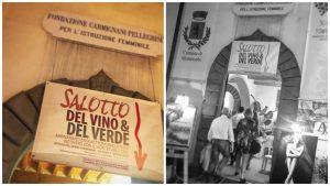 Salotto del vino e del verde 2019, Montecarlo, ristorante la torre, mangiare a manovella