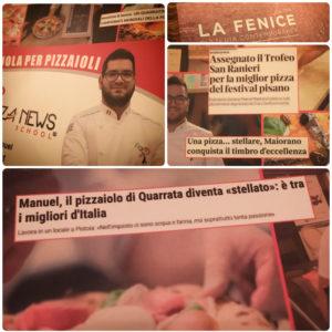 Pizzeria La Fenice, Pistoia, Mangiare a manovella, Manuel Maiorano, Cristiano Tirico