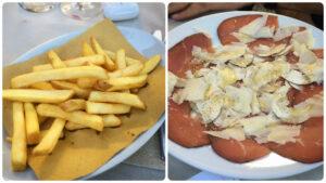 Trattoria Pizzeria Da Nerone, Pescia, Mangiare a manovella, Funghi fritti