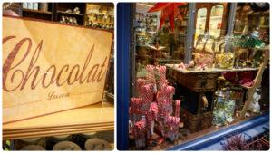 Chocolat, Lucca, Mangiare a manovella