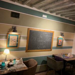 Caffè Giusti, Montecatini, Mangiare a manovella