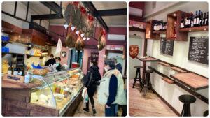 La botteghina del maialetto, Montecatini Terme, Mangiare a manovella