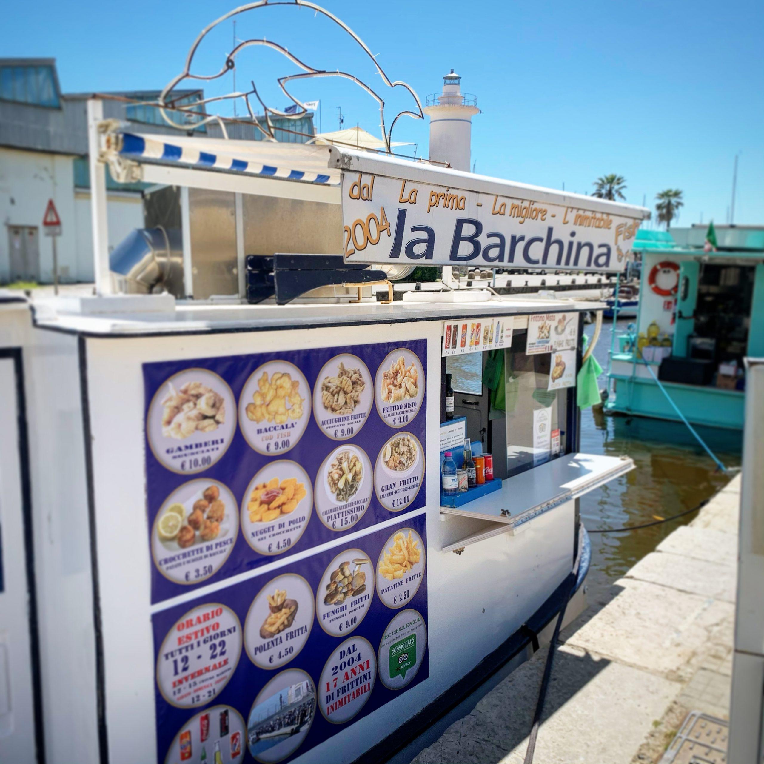 LA BARCHINA  Fish & Fried – Viareggio