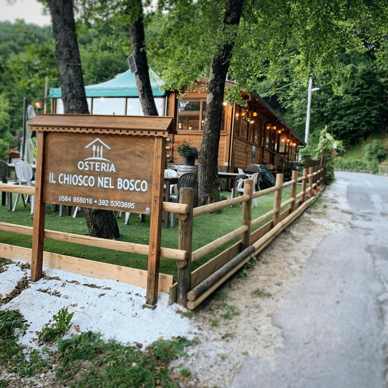 Il Chiosco nel bosco - Camaiore - Mangiare a manovella