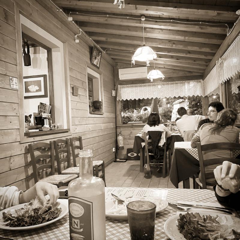 Il Chiosco nel bosco, Camaiore, Mangiare a manovella 8
