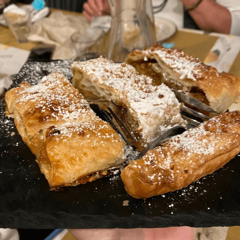 Osteria Da Giomo, Valgiano, Mangiare a manovella